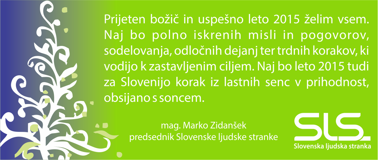 Spletna stran_čestitka 2015_Zidanšek